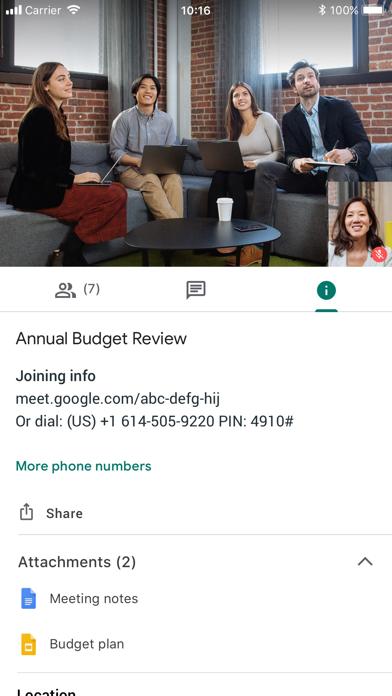 Hangouts Meet by Google Screenshot