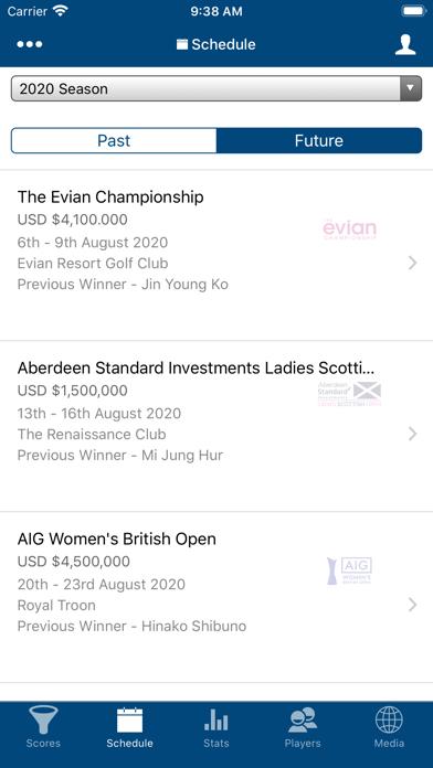 Ladies European Tour screenshot two