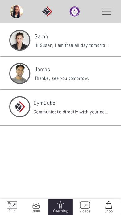 GymCube screenshot four