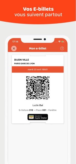Sncf Calendrier Des Meilleurs Prix.Oui Sncf Train Et Bus Dans L App Store