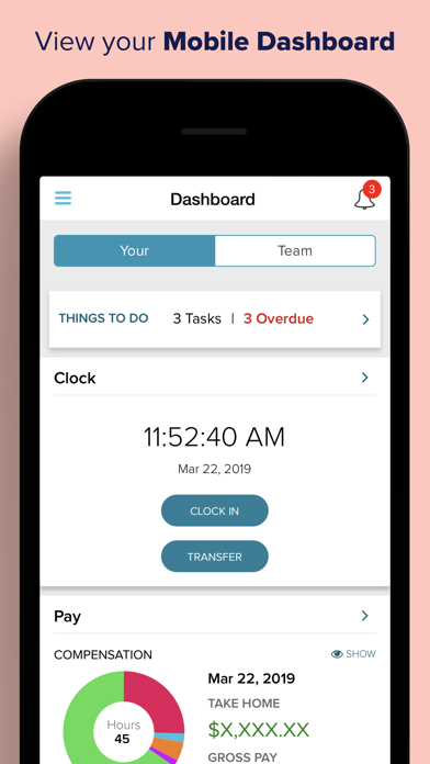 Screenshot for ADP Mobile Solutions in United States App Store