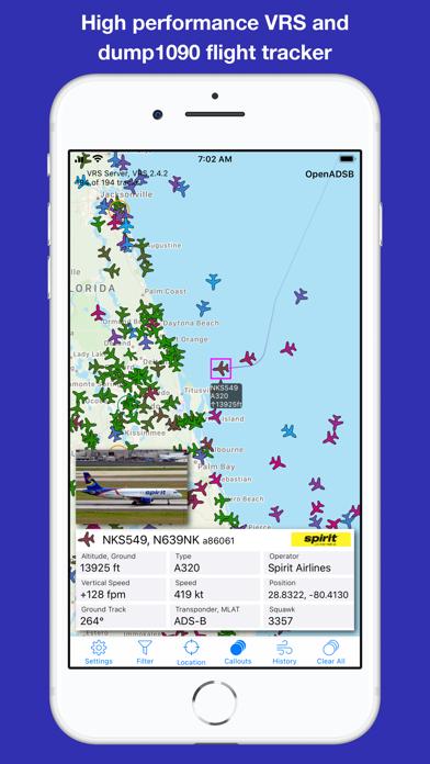 OpenADSB Screenshot