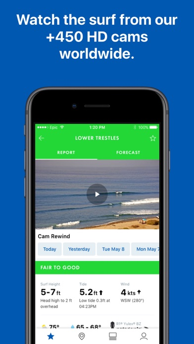 Screenshot for Surfline in United States App Store