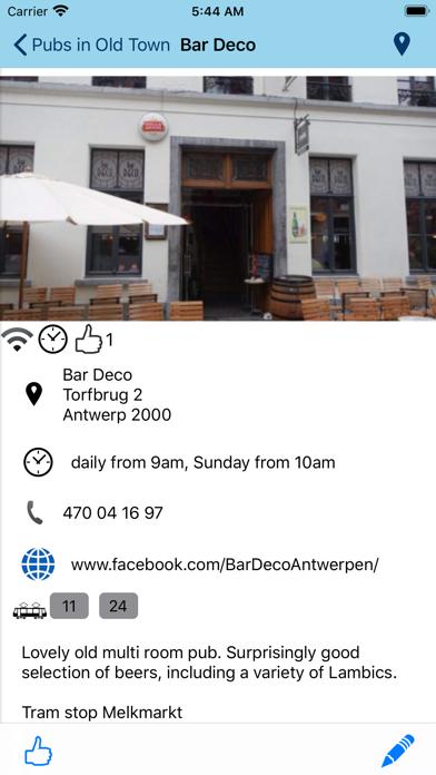 Beer Guide Antwerp screenshot four