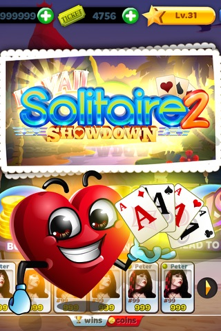 Solitaire Showdown 2 - náhled