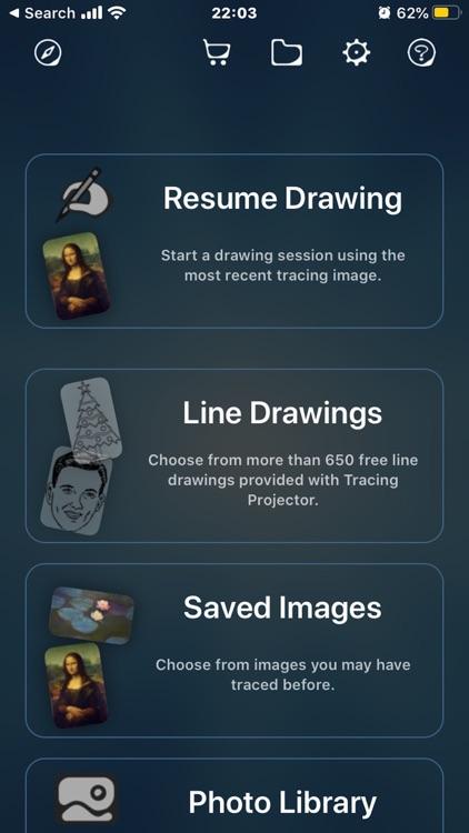 Tracing Projector screenshot-6