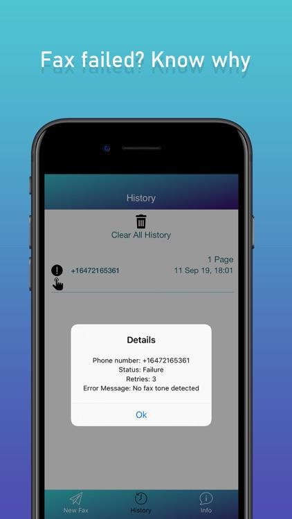 Fax & Fax Send Fax from iPhone screenshot-5
