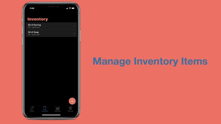 Order Inventory Manager