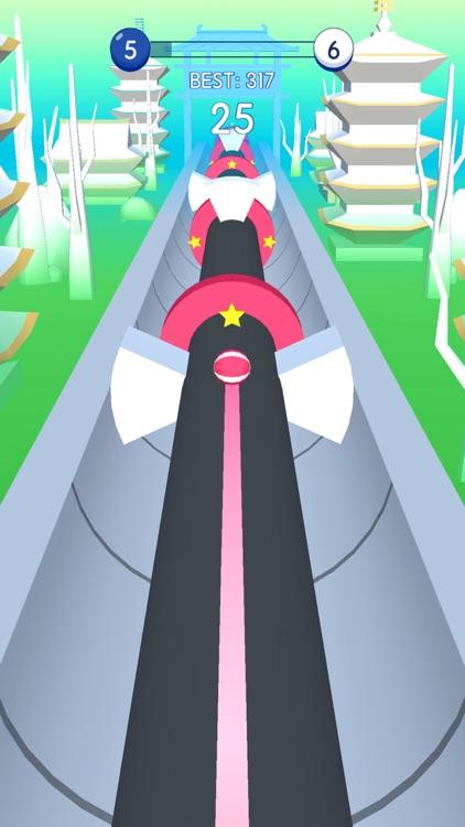 Smash Road - Color Ball Run 3D screenshot-3