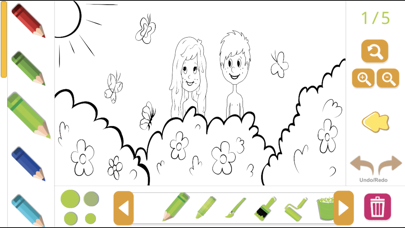 Biblia Coloring Story Book screenshot 1
