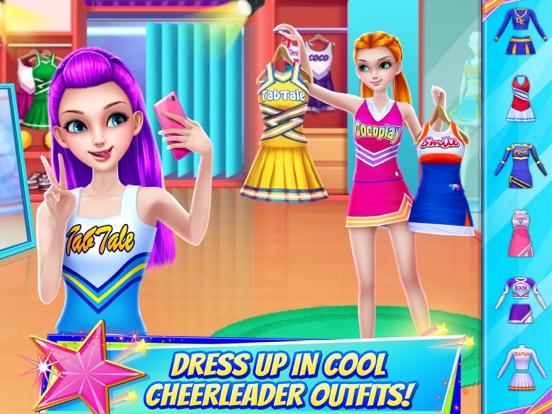 iPad Image of Cheerleader Champion Dance Off