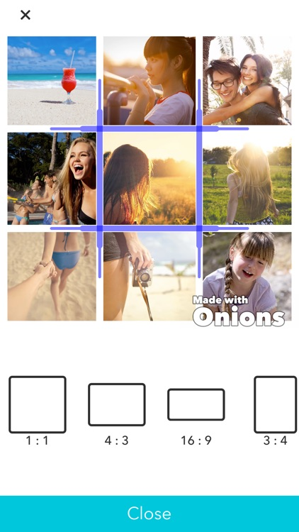 Onions for layout videos