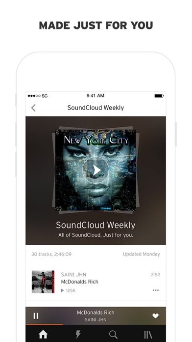 Screenshot for SoundCloud - Music & Audio in New Zealand App Store