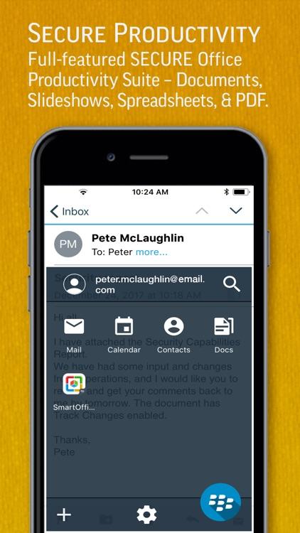 SmartOffice for BlackBerry screenshot-0