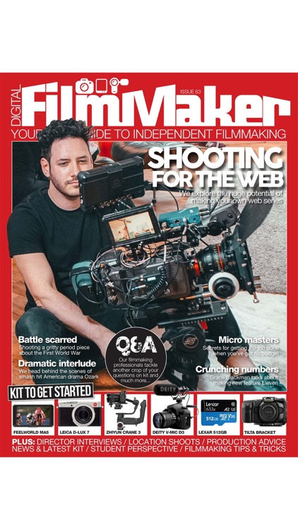 Digital FilmMaker Magazine screenshot-6