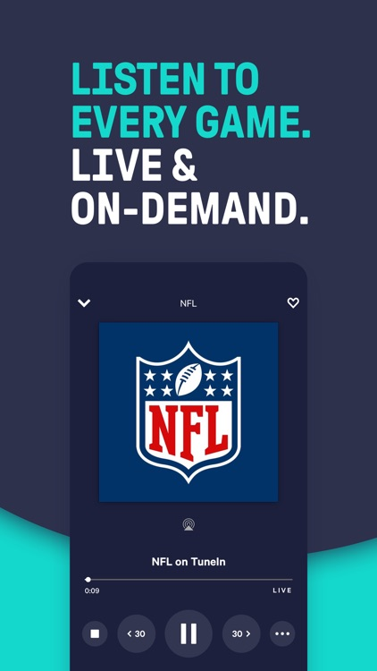 TuneIn - NBA Radio & Live News screenshot-0