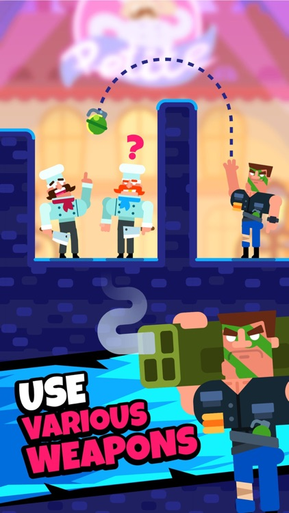 Gun Guy - Bullet Puzzles