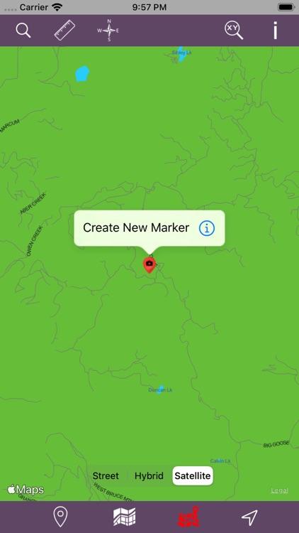 Bighorn National Forest - GPS screenshot-5