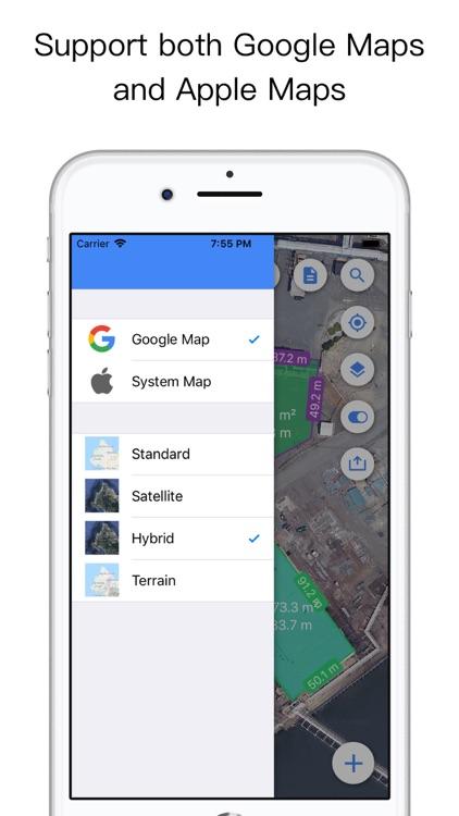 Planimeter for map measure screenshot-4