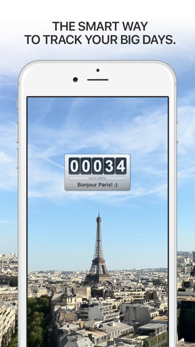 Screenshot for Big Day - Event Countdown in Italy App Store