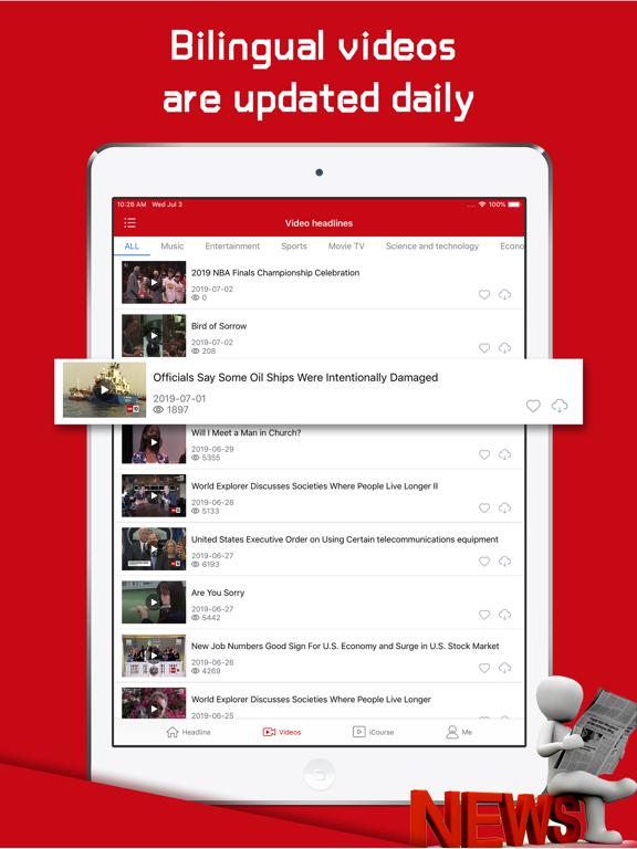English Daily-Top Video News screenshot 8