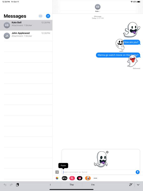 Spirit Ghost Stickers screenshot 6