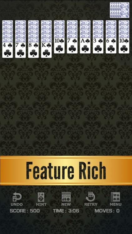 Spider Solitaire Classic ◆ screenshot-9