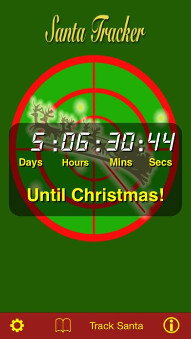 Santa Tracker screenshot one