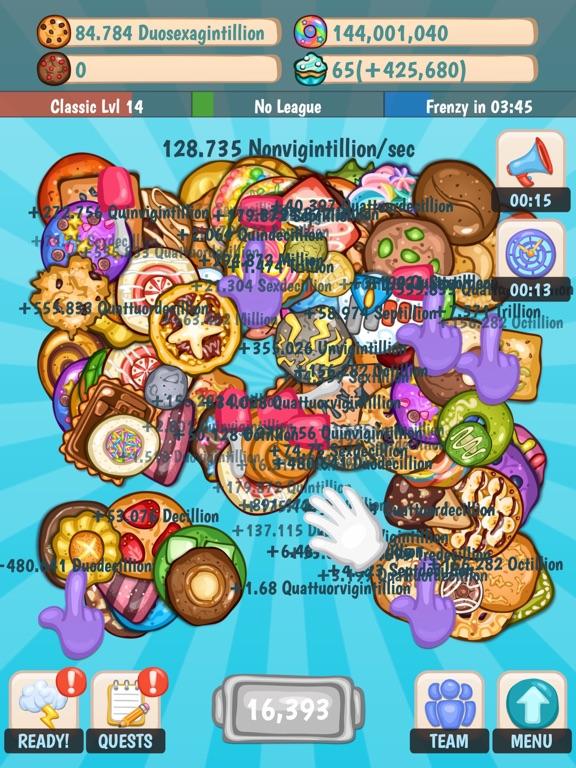 Cookies Inc. - Idle Tycoon на iPad