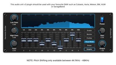 Harmonic Exciter AUv3 Plugin screenshot 1