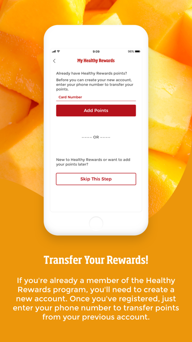 Smoothie King Healthy Rewards review screenshots