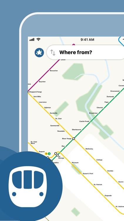 Toronto Subway Map screenshot-0