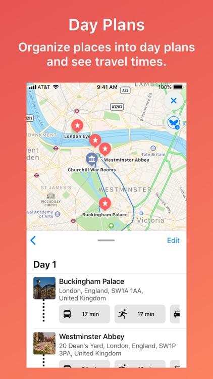 Monarch Trips - Trip Planner
