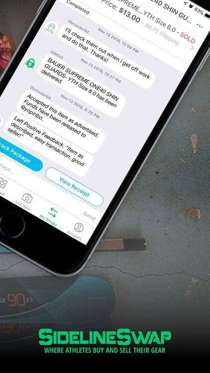 SidelineSwap screenshot-3