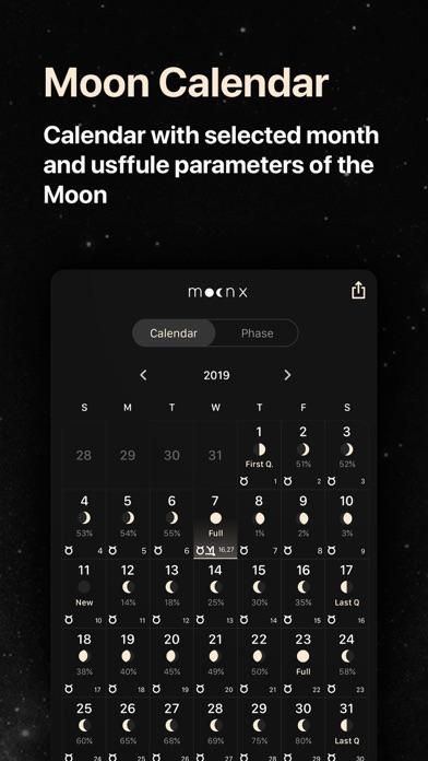 Moon Calendar and Moon Phases screenshot four