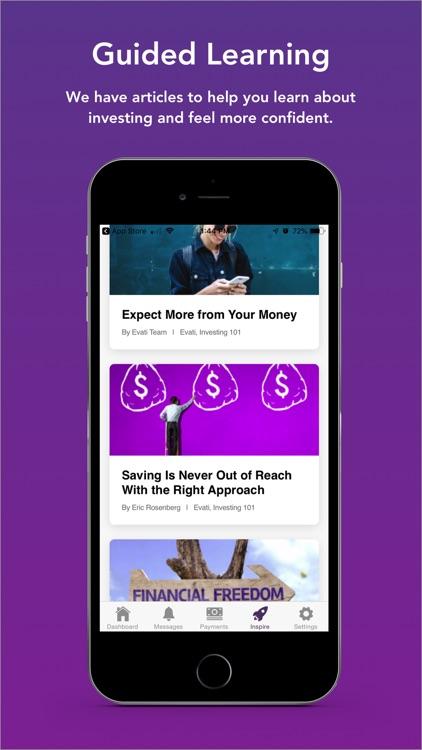 Evati: Investing, For Everyone screenshot-5