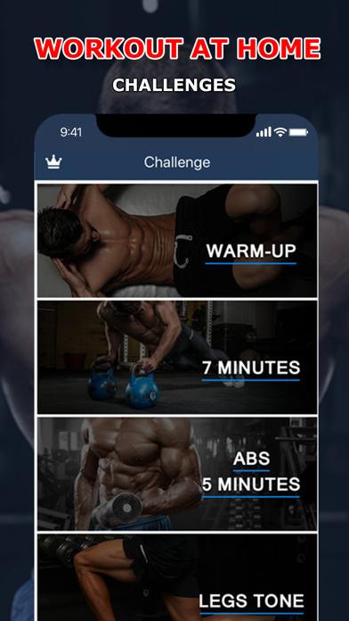 Home Workout & Diet Plan Screenshots