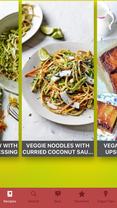 Vegan Recipes⋆ Screenshot