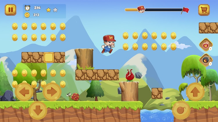 Super Bino Go 2: Jump N Run screenshot-0