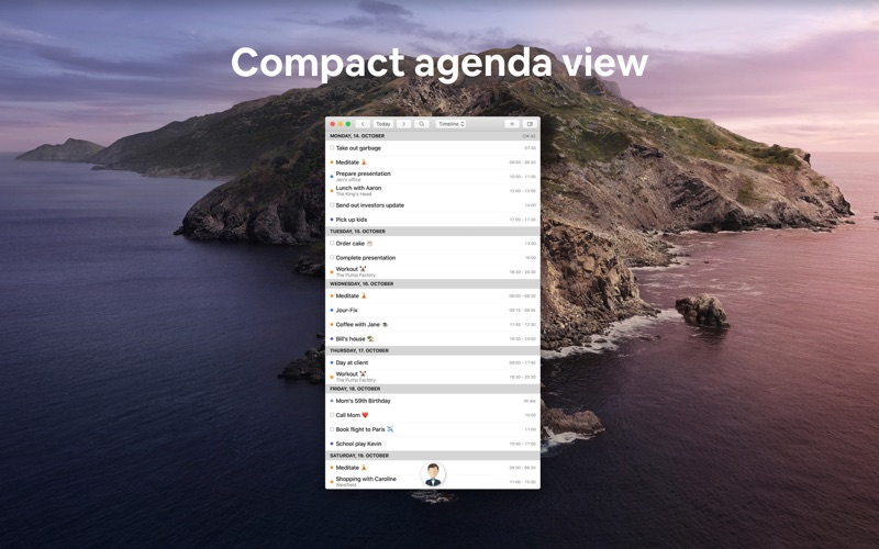 Butleroy: Calendar & To-dos for Mac