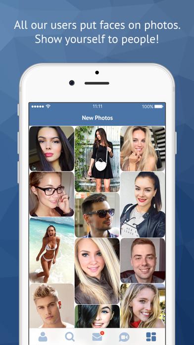 Minichat - videochat, dating Screenshot on iOS