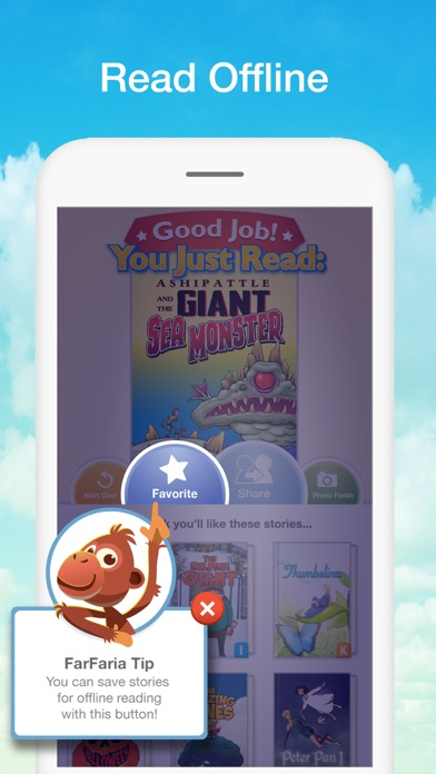 FarFaria Read Along Kids Booksのおすすめ画像6