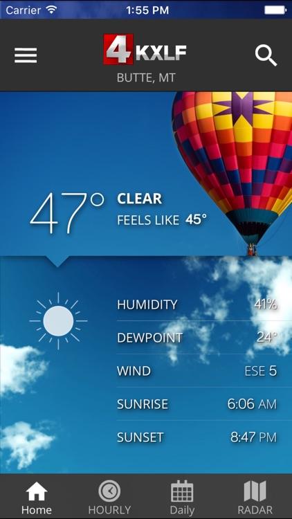 KXLF STORMTracker Weather App