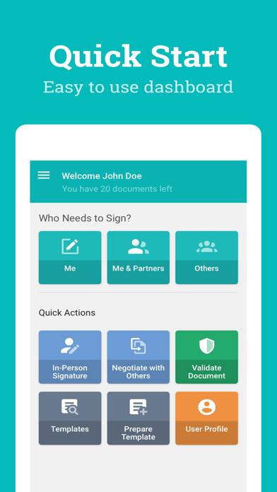 点击获取SignOnTheGo eSignature App