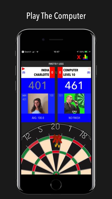Russ Bray Darts Scorer Pro screenshot four