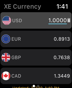 XE Currency on the App Store