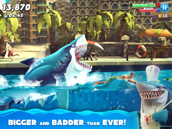 Hungry Shark World-ipad-0