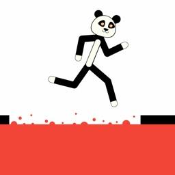 Panda Parkour Platform Jumper