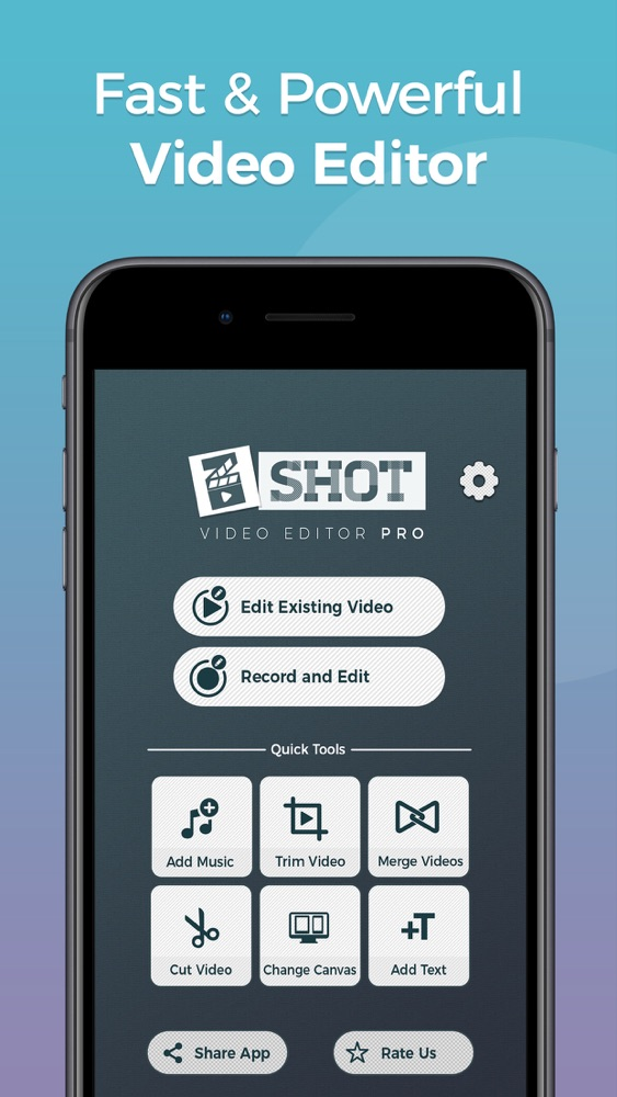 Video Editor zShot: Easy Edits App for iPhone - Free Download Video