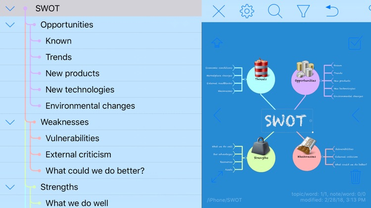 iThoughts2go - Mind Map screenshot-3